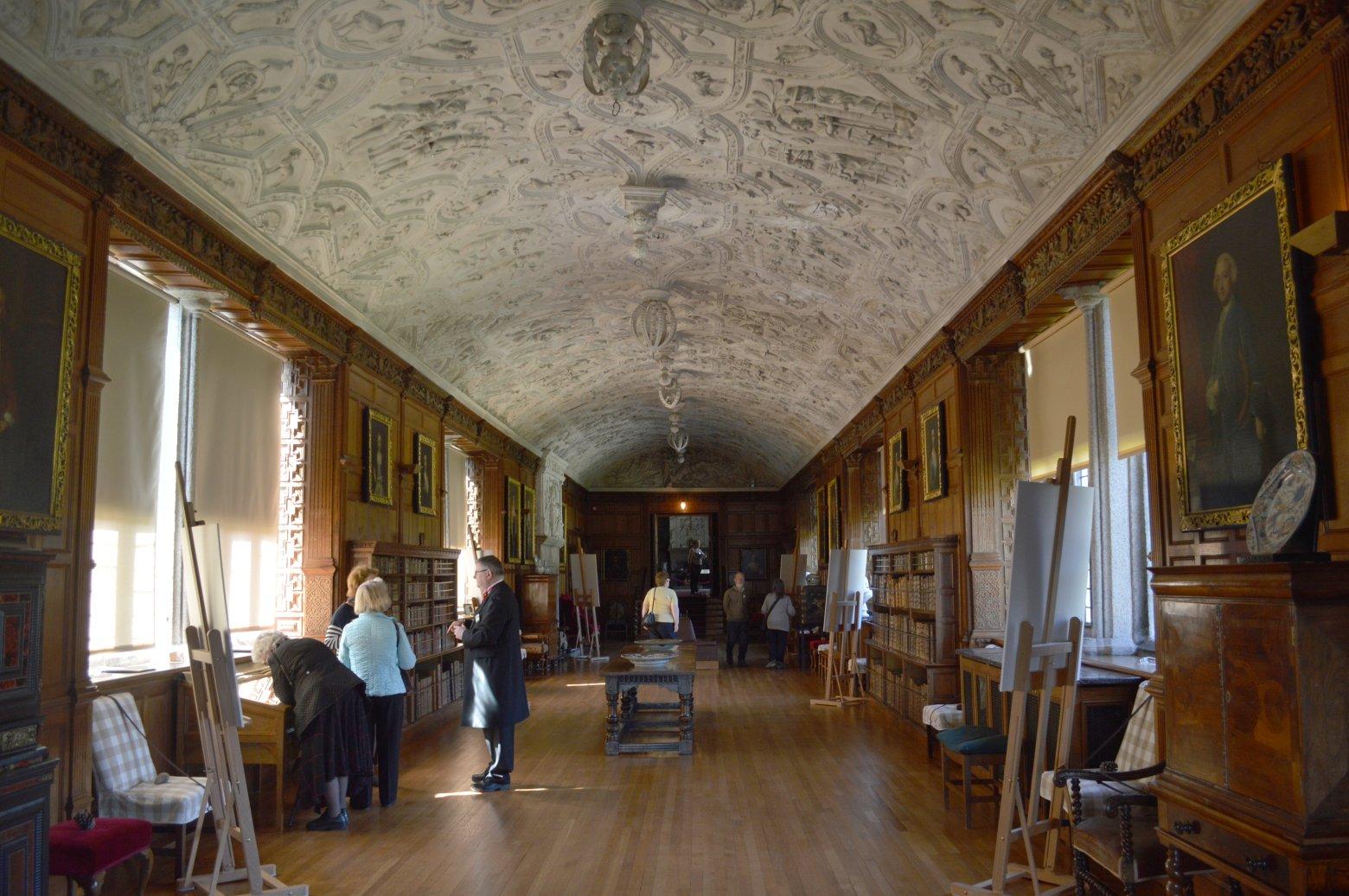 Long Gallery, Lanhydrock House