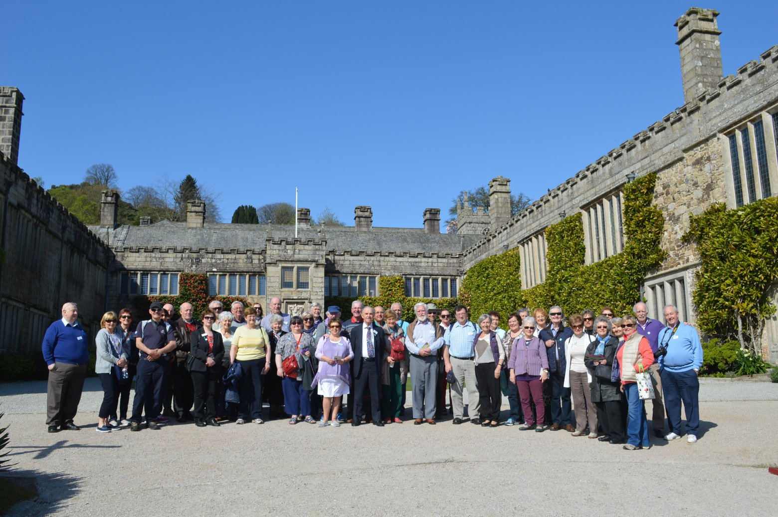 Full Group at Lanydrock House