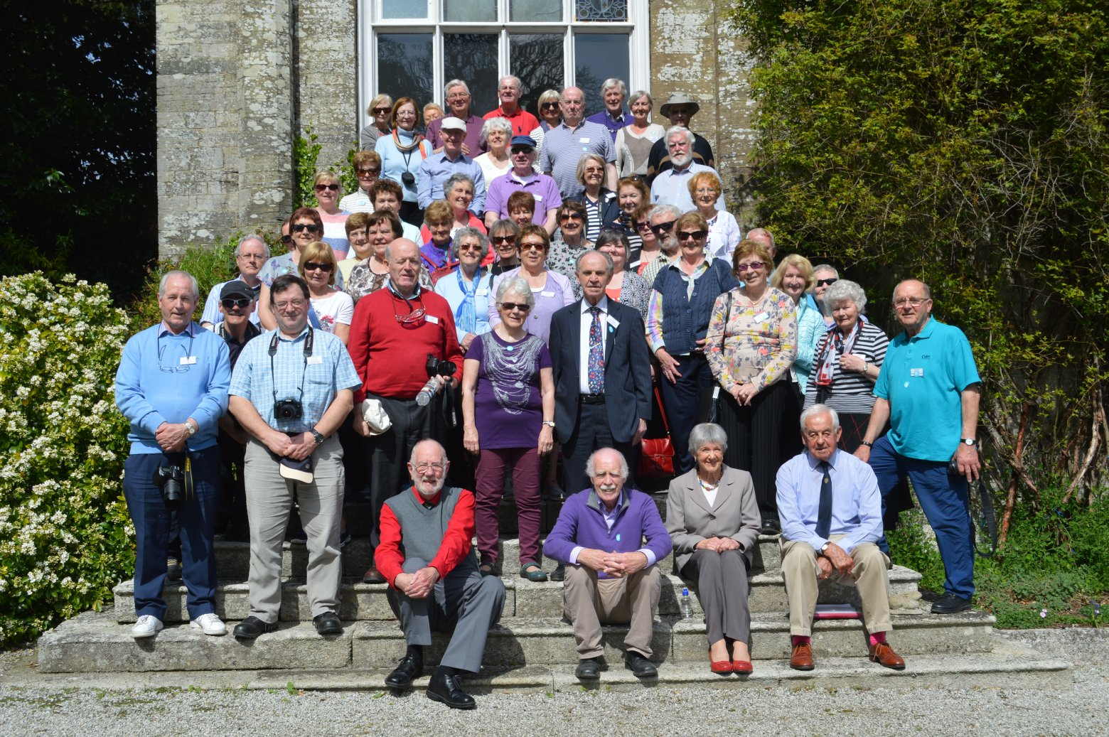 Group at Prideaux Place, Padstow
