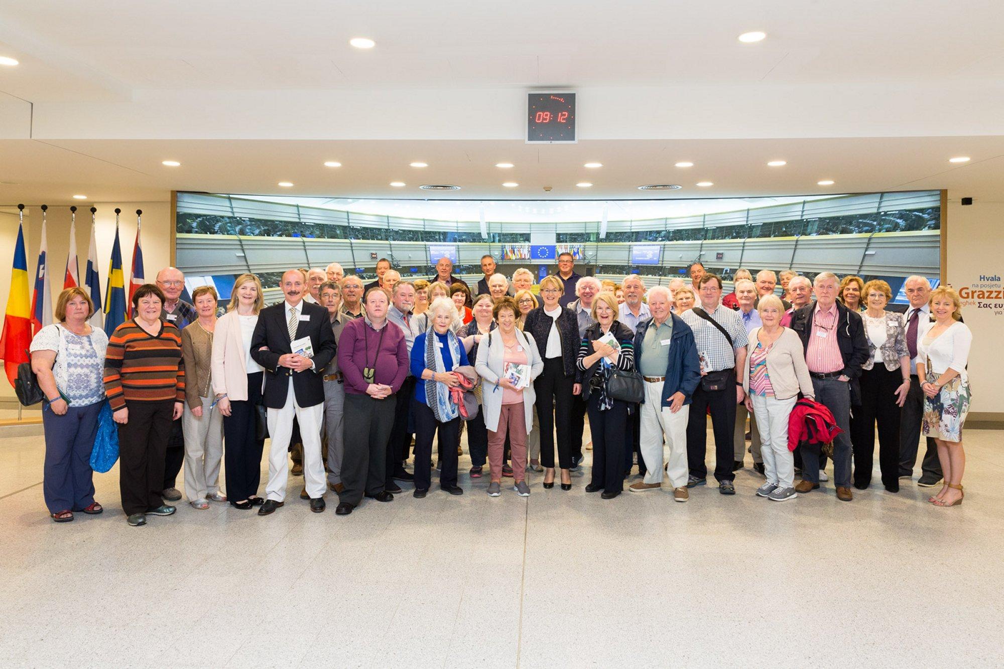 At the European Parliament