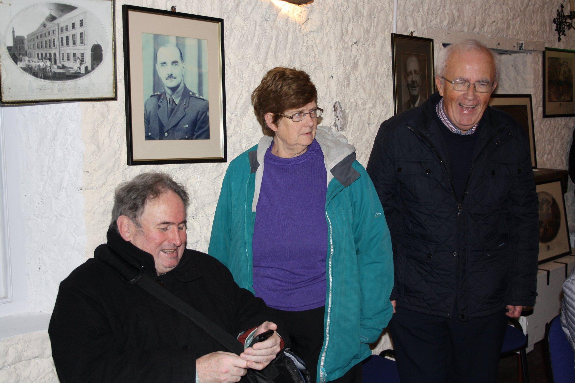 Patrick Boner, Bridie and Pat McGuigan