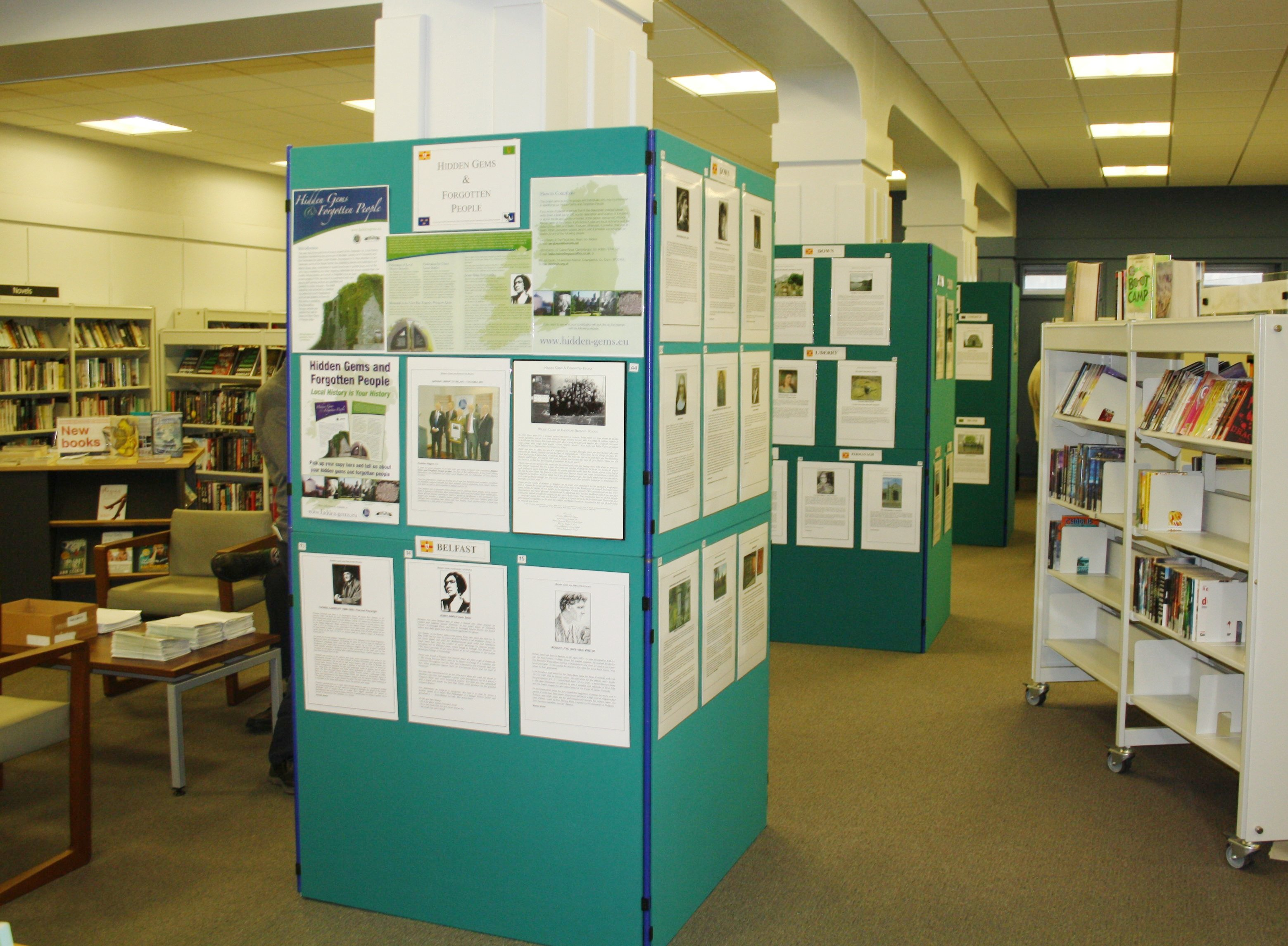 Over 60 exhibits from 30 Counties