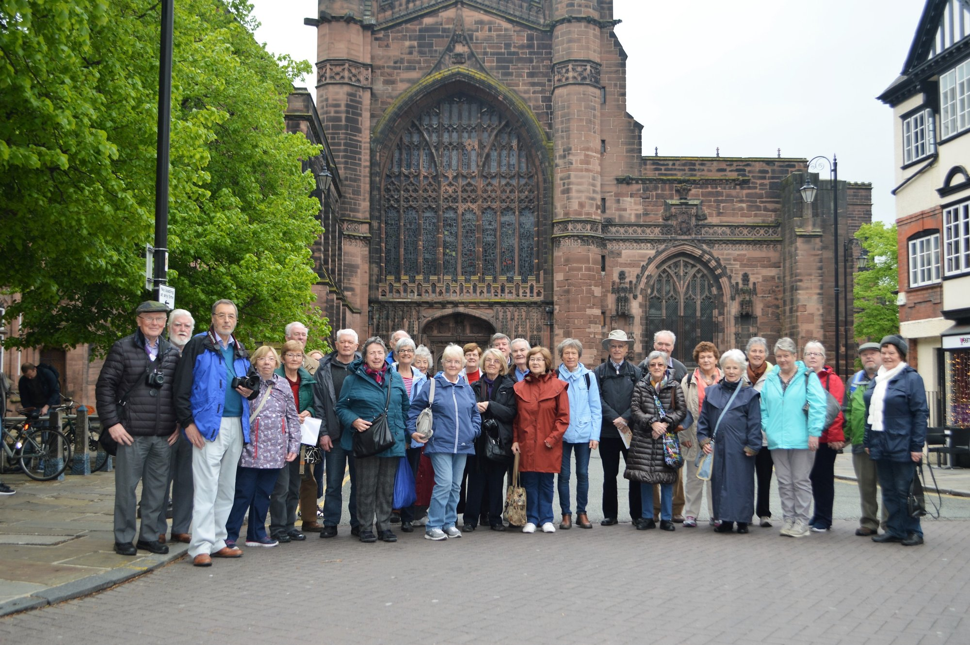 Group at Chester Cathedral