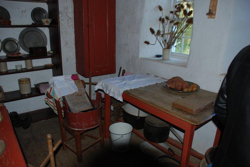 Old World House - interior