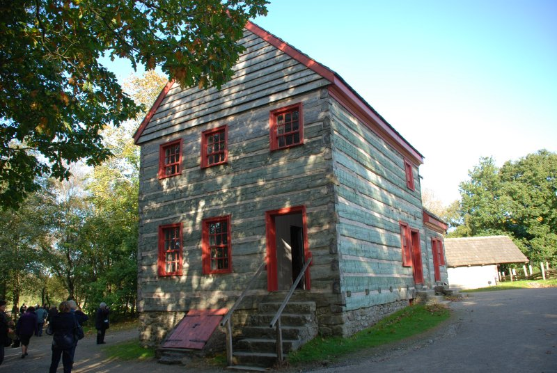 Old World House - exterior