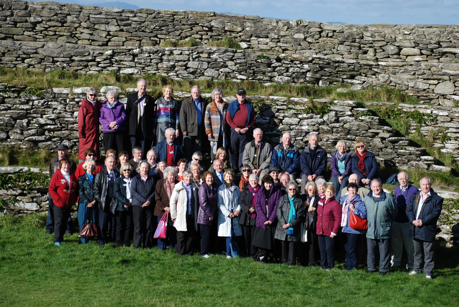 The final gathering at Grianan