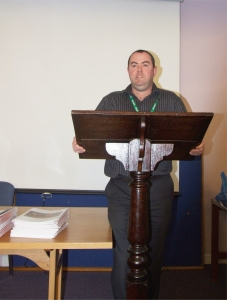Editor Roddy Hegarty discusses the significance of the launch - PHOTO Pat Devlin