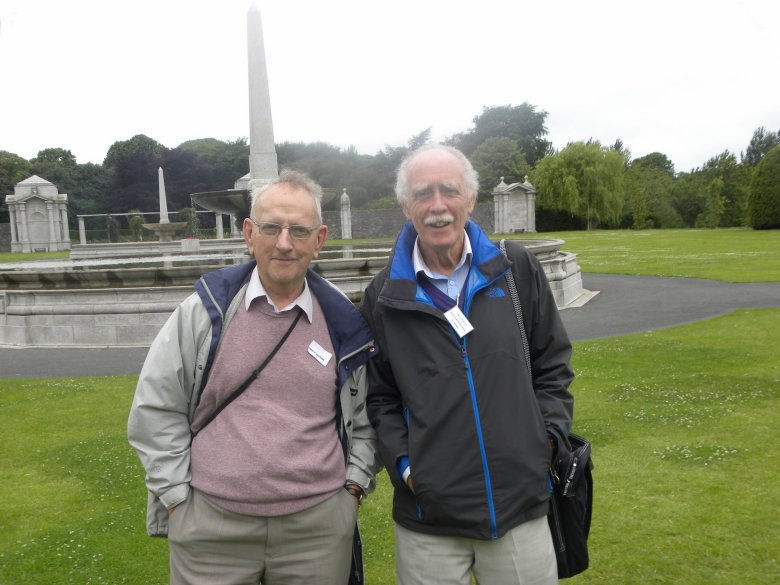 Finny O'Sullivan and Larry Breen