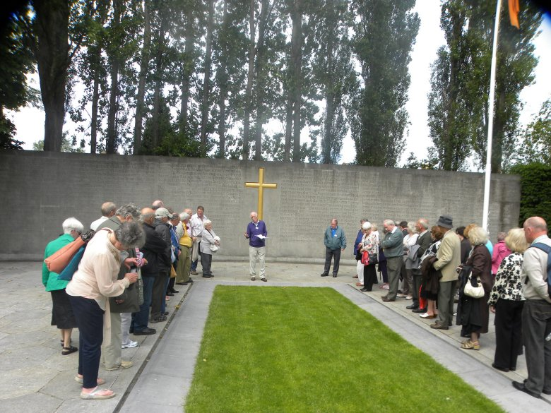 Group at Arbour Hill 1916 Memorial