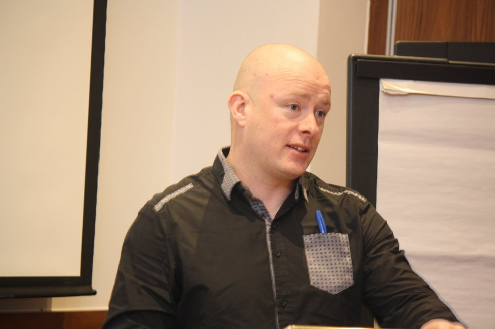 Quincy Dougan speaks about 'Militant Irish Anti-Home Rule Outside Ulster' - Photo: Pat Devlin