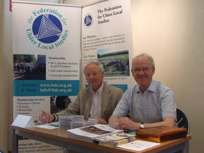 Liam Devlin and Pat Devlin at the Federation table - PHOTO Pat Devlin