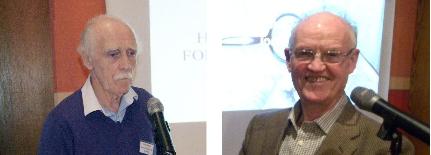 Larry Breen and Pat Devlin
