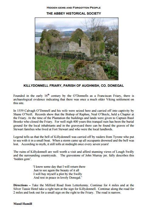 Killydonnell Priory