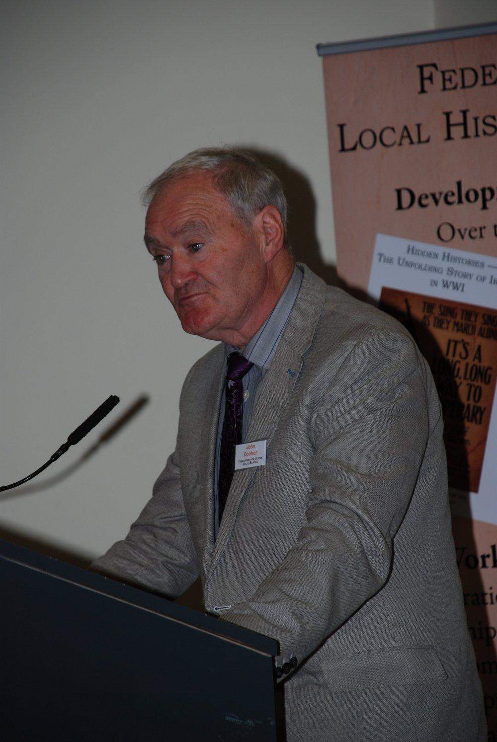 Johnny Dooher, Chairman FULS