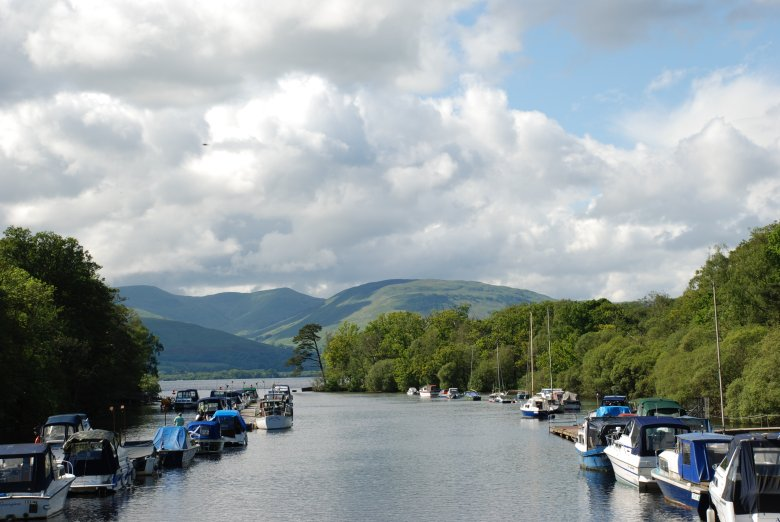 Boats at Loch Lomond