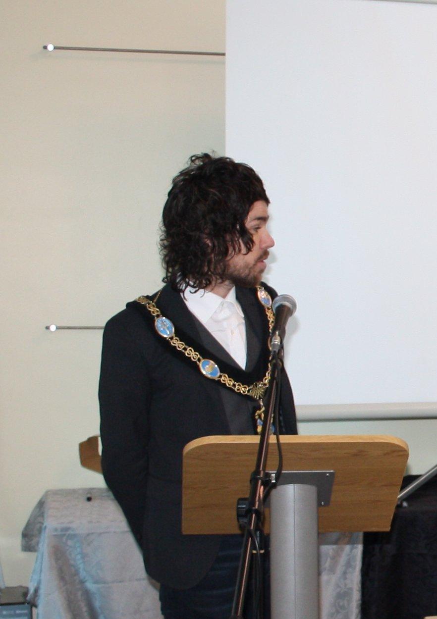 Lord Mayor, Garath Keating