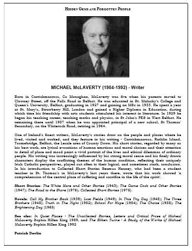 Michael McLaverty