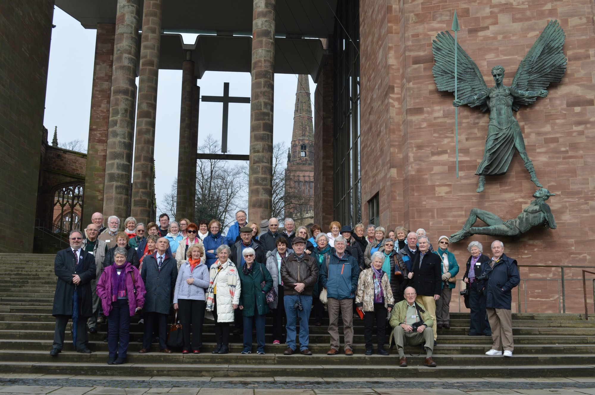 At Coventry Cathedral