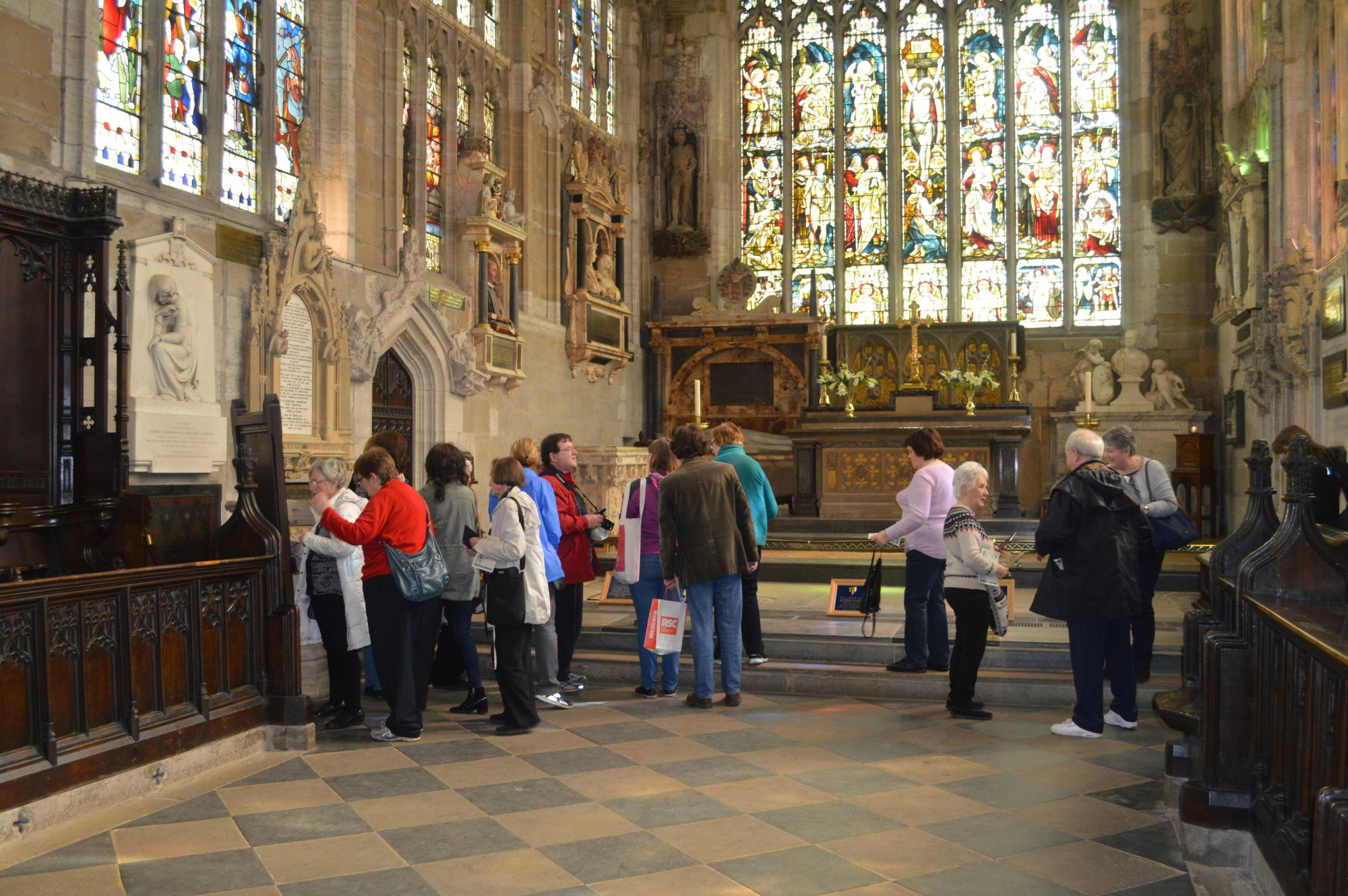 Inside Holy trinity Church, Stratford