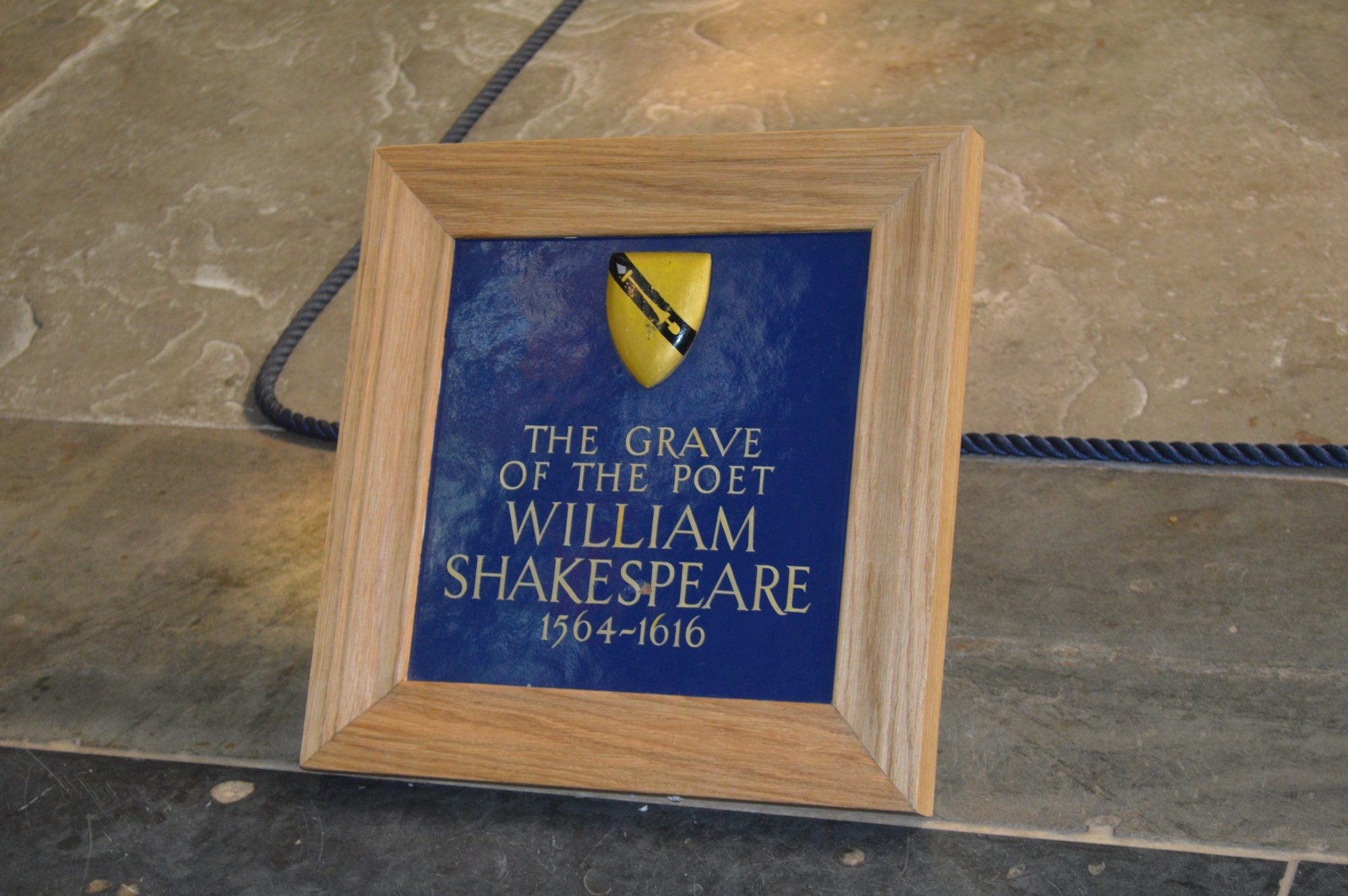 Grave of William Shakespeare