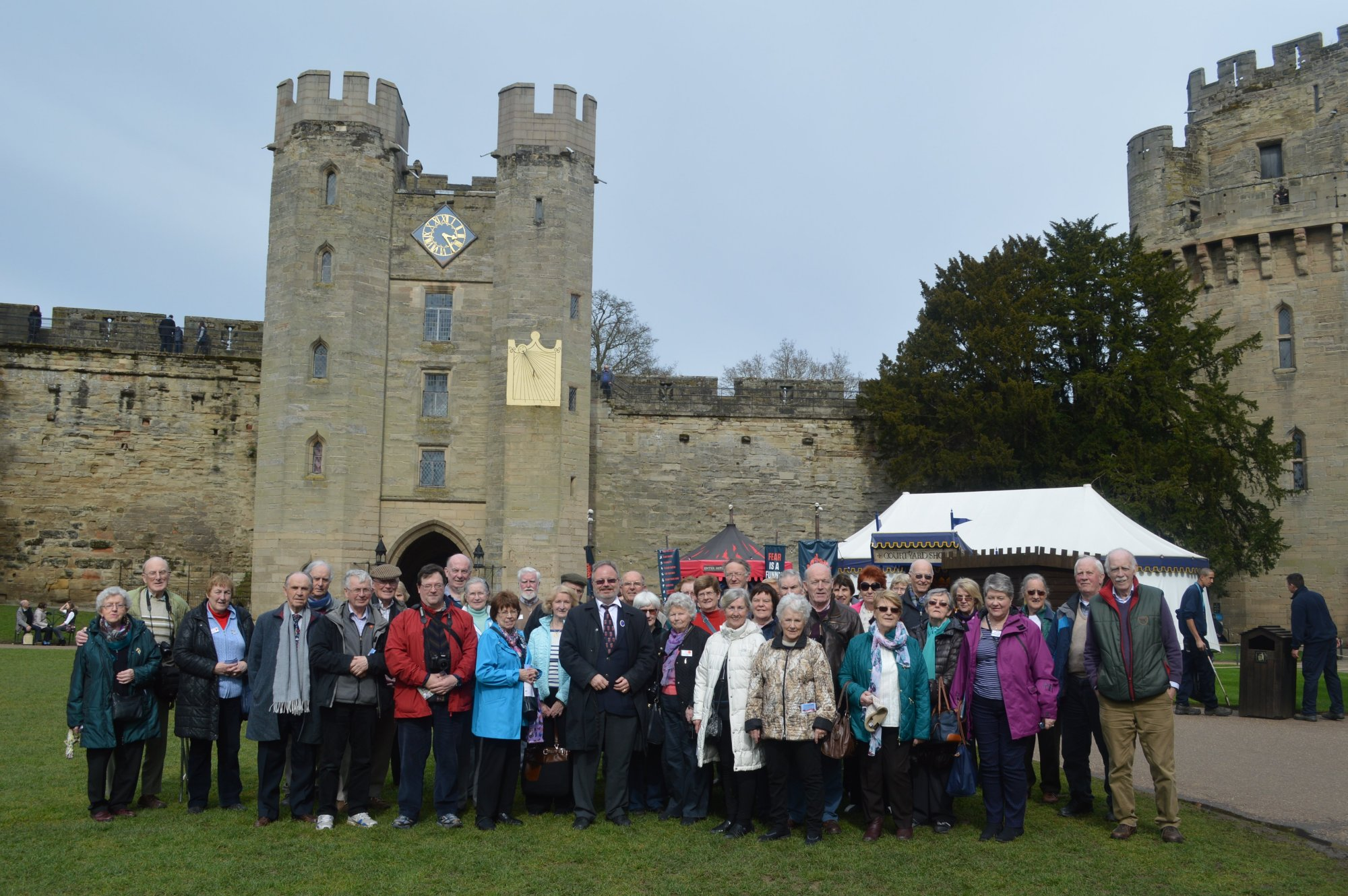 Group at warwick Castle