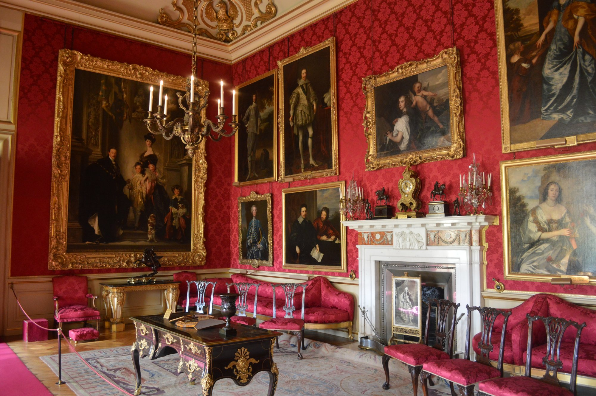 Inside Blenheim Palace