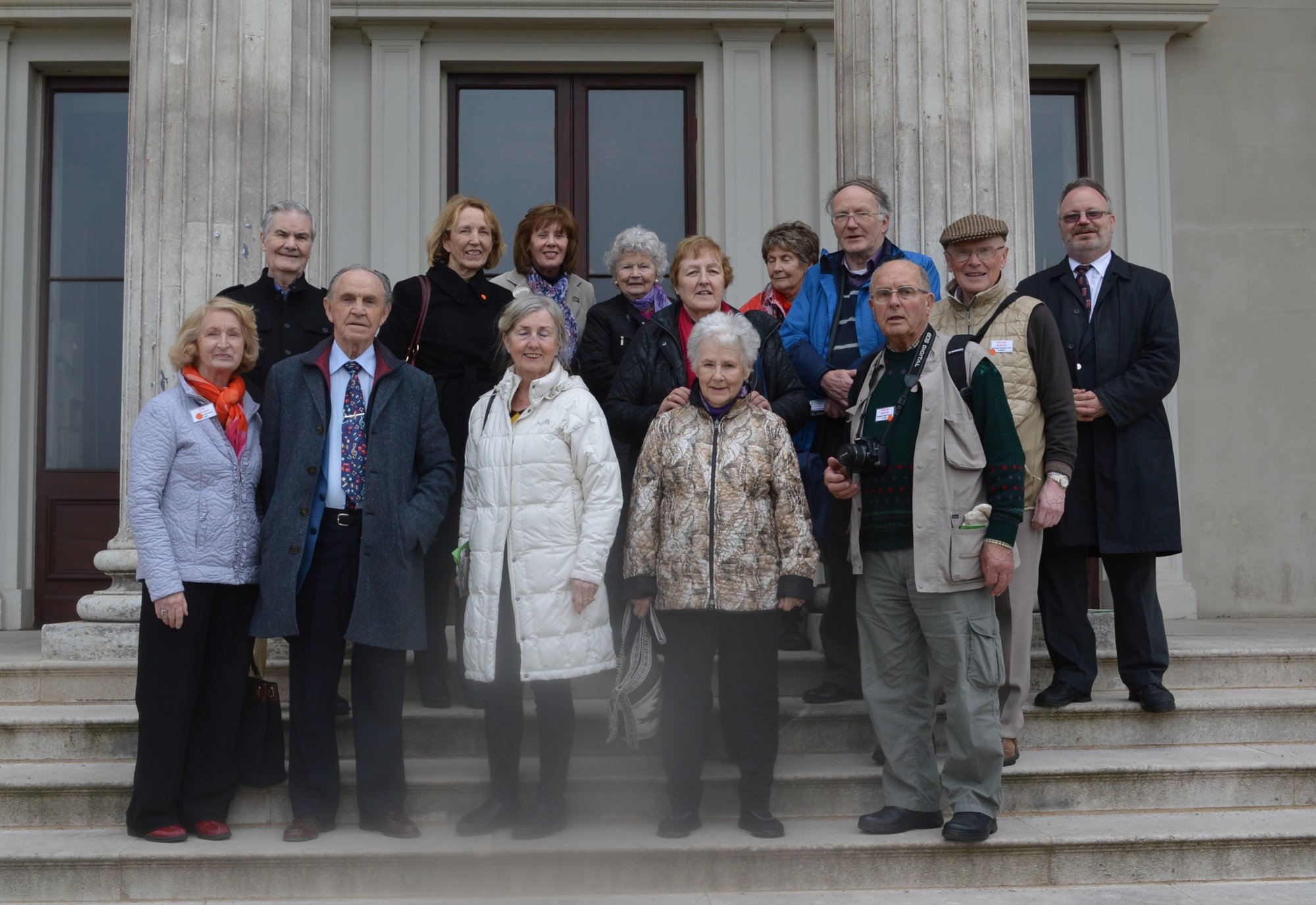 Group at Shugborough Hall