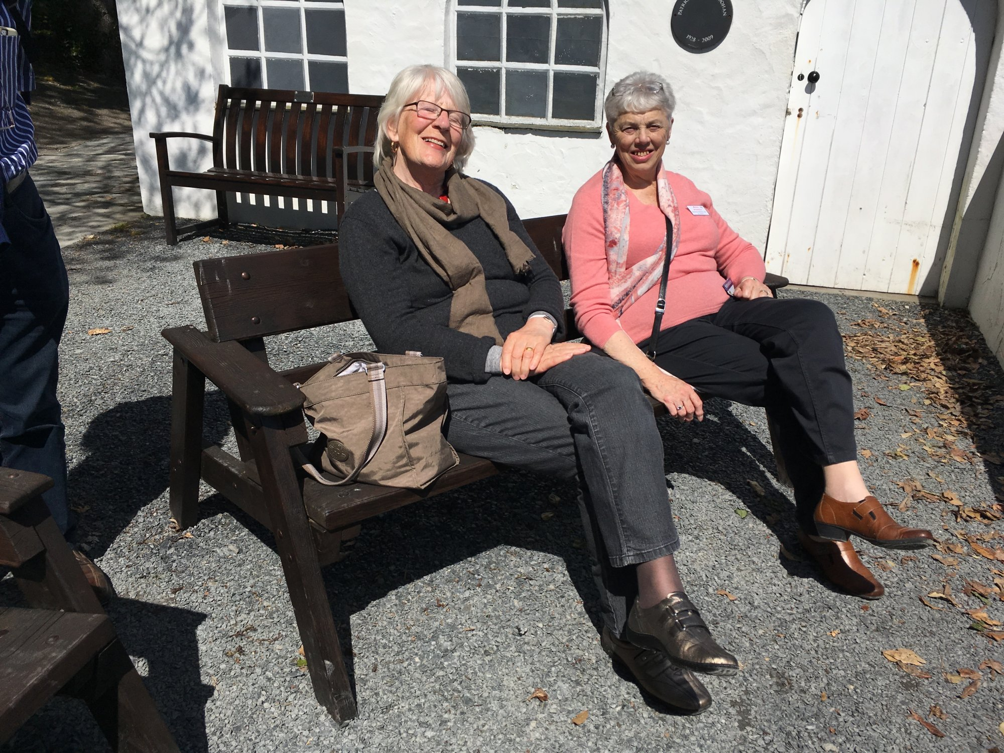 Esther Ervin and Pat Hannah