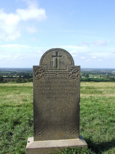 1798 Commoration Stone in the Forrad - PHOTO Pat Devlin