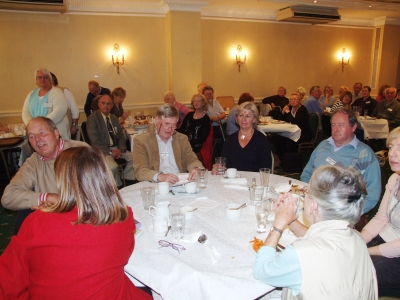At lunch in Conynham Arms Hotel, Slane - PHOTO Pat Devlin