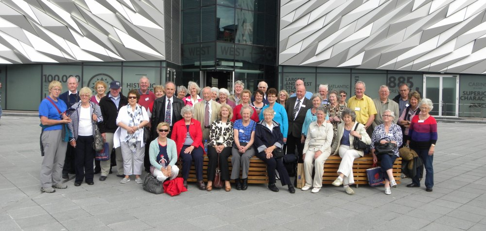 Group at the Titanic Centre