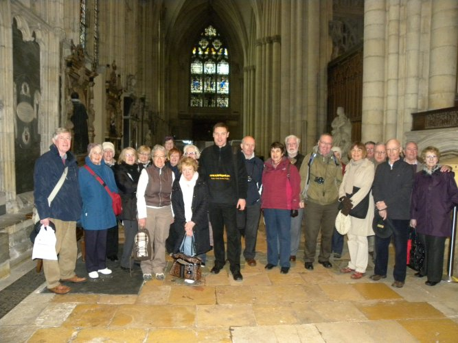 At the Minster